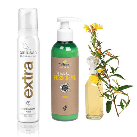 Callusan Naturale SANFT 200 ml + Callusan krem w piance extra 175 ml (1)