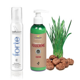 Callusan Naturale INTENSIV 200 ml + Callusan krem w piance forte 125 ml