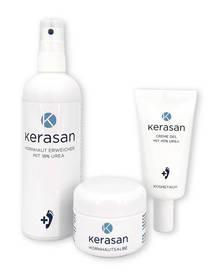 Zestaw preparatów Kerasan maść + żel + spray