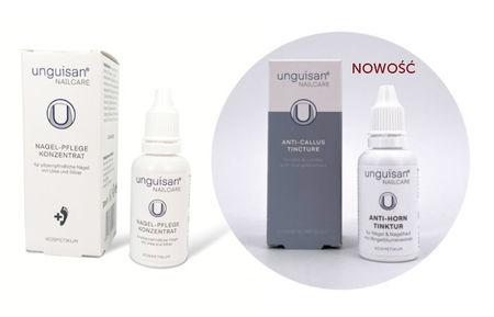 Zestaw Unguisan Koncentrat regeneracyjny, 30 ml + Tynktura zmiękczająca, 30 ml (1)